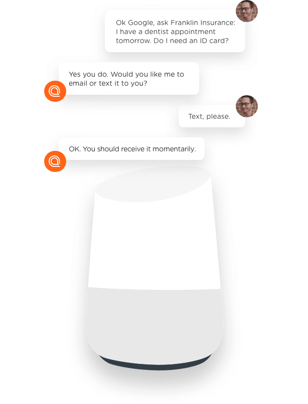 Smart speaker channel of customer engagement