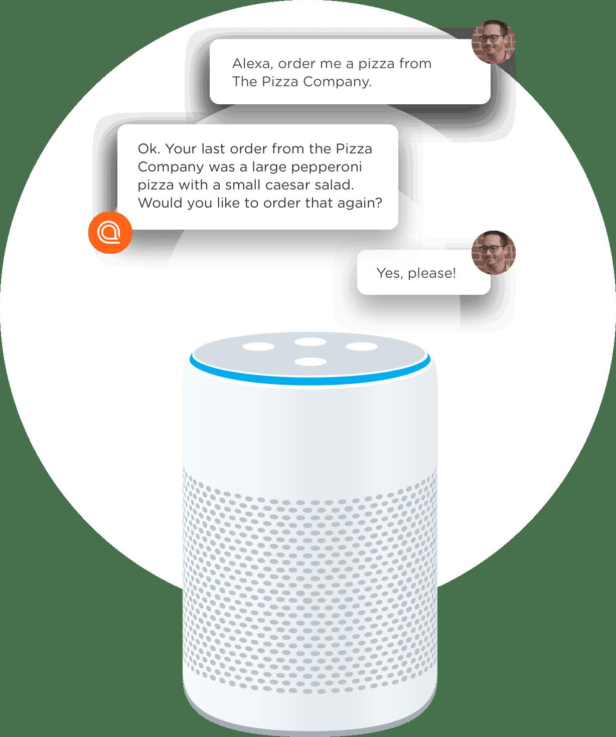 Conversation on Home Smart Speaker