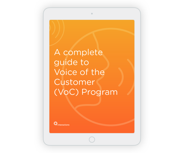 Complete guide to Voice of the Customer (VoC) Program